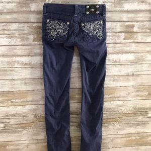 Girls MissMe CobaltBlue Pants